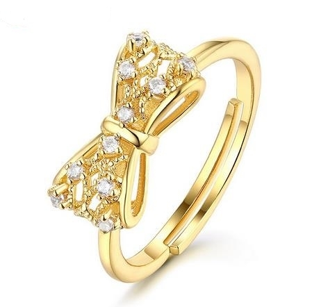 Bow_mesh_openwork_9K_GOLD_open_ring