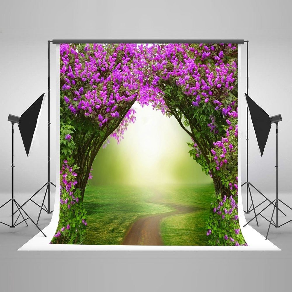 6x6FT Vinyl Photo Backdrops,Doodle,Tree Playing Children Background for Selfie Birthday Party Pictures Photo Booth Shoot