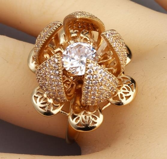 2020_new_fashion_Rose_Ring