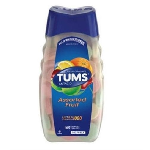 Tums Ultra 1000 Maximum Strength Assorted Fruit Antacid/Calcium Value