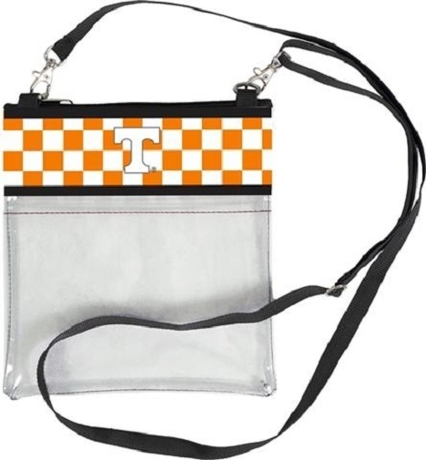 Tennessee Volunteers NCAA Clear Fashion Crossbody Purse photo