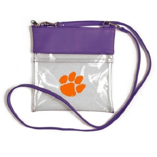 Clemson Tigers NCAA Clear Gameday Crossbody Purse photo
