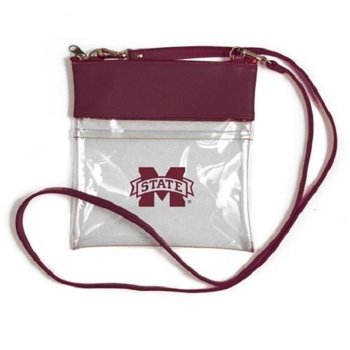 Mississippi State Bulldogs NCAA Clear Gameday Crossbody Purse photo