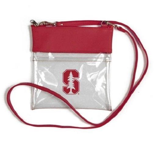 Stanford Cardinal NCAA Clear Gameday Crossbody Purse photo