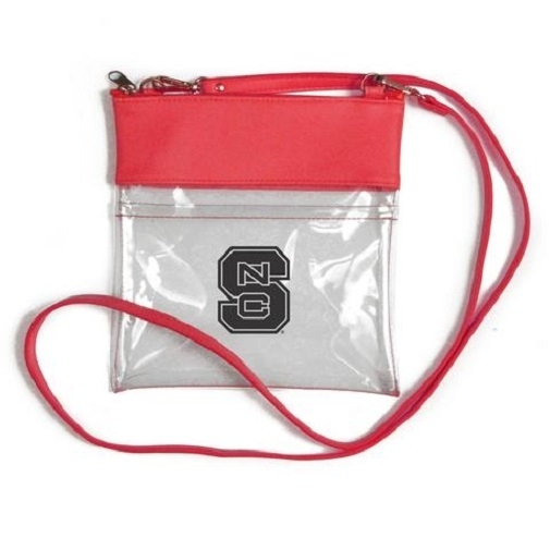 NC State Wolfpack NCAA Clear Gameday Crossbody Purse photo
