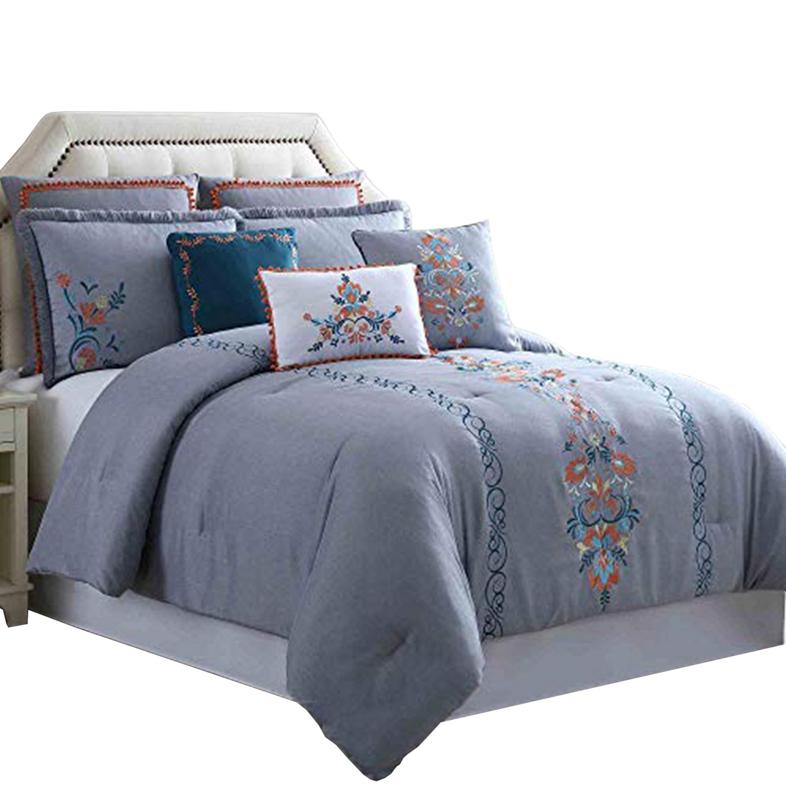 Sherpi Odense 8 Piece King Comforter