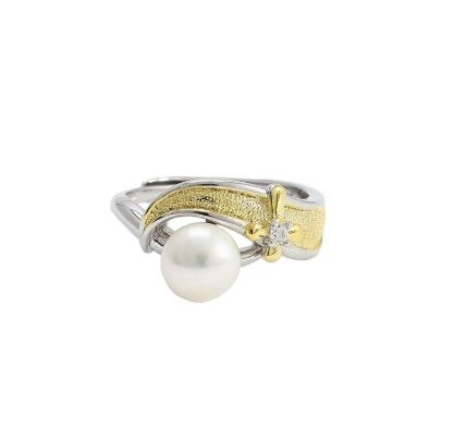 Retro_natural_pearl_ring