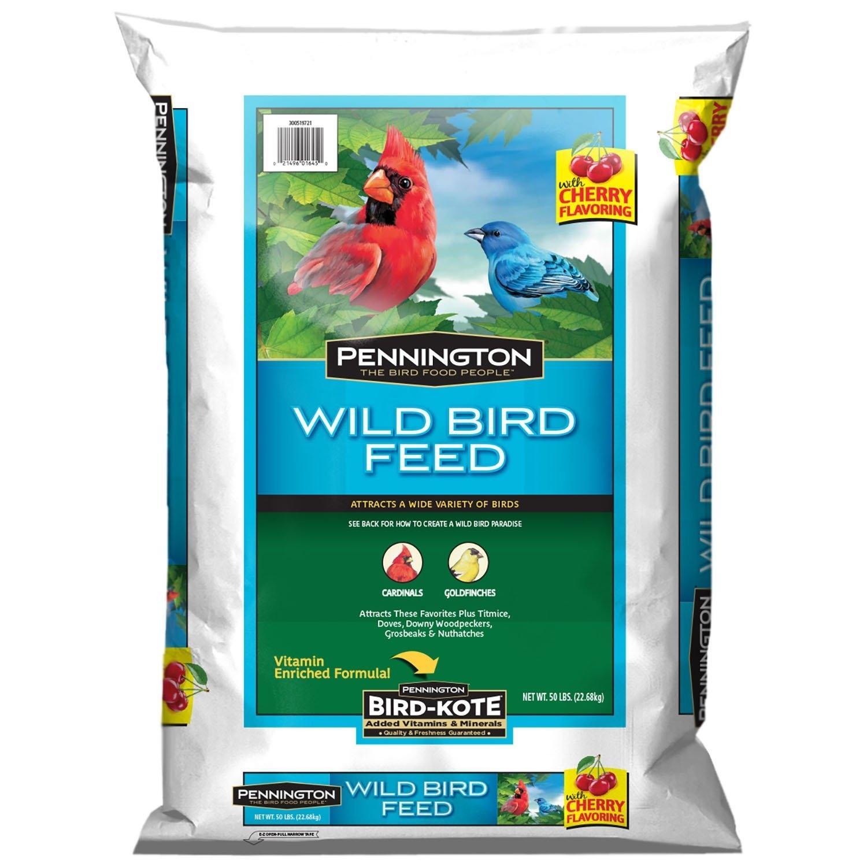 Pennington Wild Bird Food With Cherry Flavor (50 Pounds) photo
