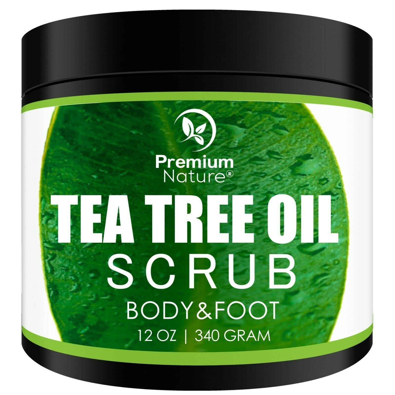 Premium Naturetea Tree Oil Body Scrub 12 Oz 100 Natural Antibacterial Body Foot S Dailymail