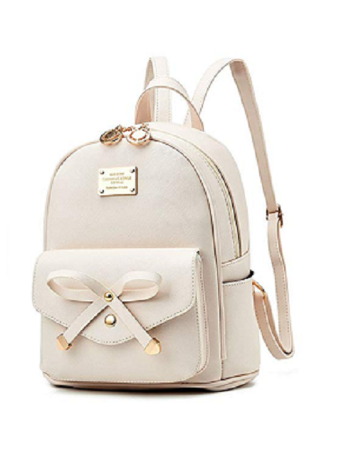 Girls Bowknot Cute Backpack Purse (S003261-Pink) photo